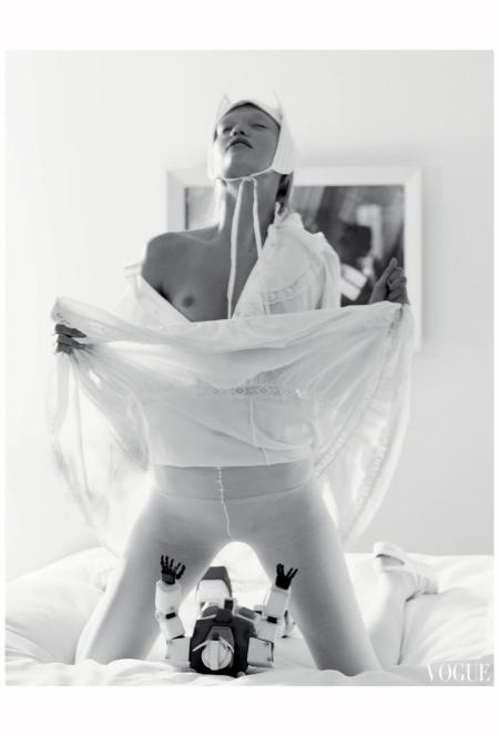 Gemma Ward vogue-italia-march-2006 Photo Steven Meisel