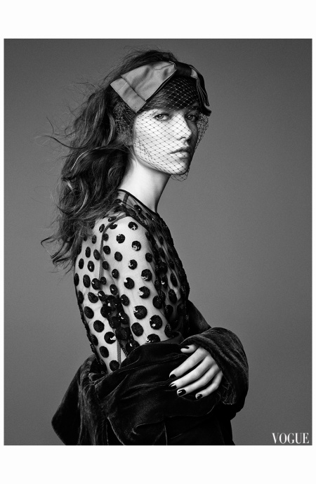 Grace Hartzel | Vogue España December 2014 Photo Patrick Demarchelier