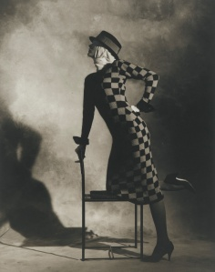 Perry Ellis dress NYC 1982 Photo Horst P. Horst