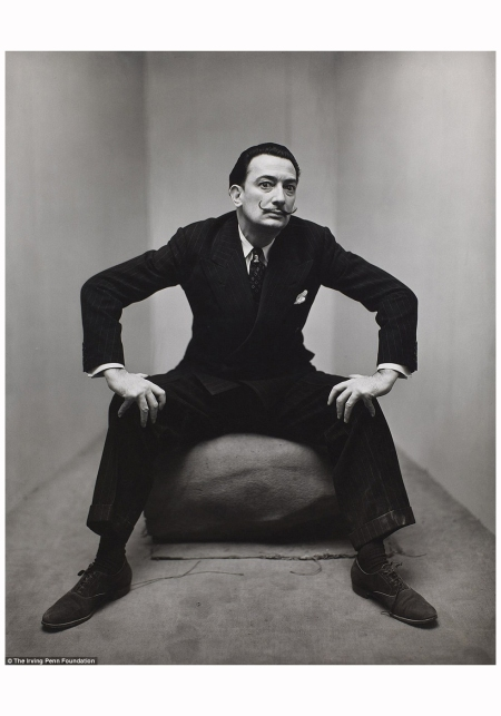 Salvador Dalì NYC 1947 Photo Irving Penn
