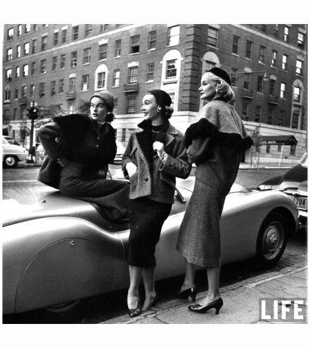 Sophie Malgat Litwak Sunny Harnett From Woman in Fashion Photo Nina Leen