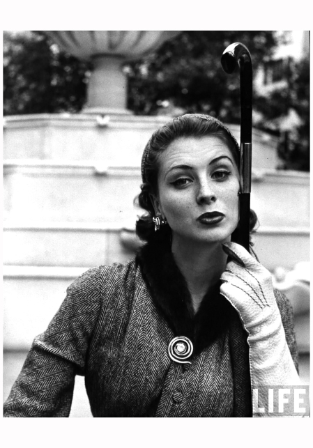 Suzy Parker 1951 Photo Nina Leen