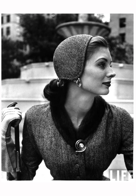 Suzy Parker From Woman in Fashion 1951 Photo Nina Leen