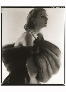 Suzy Parker, Fur Series for Vogue, 1949 Photo Horst P. Horst