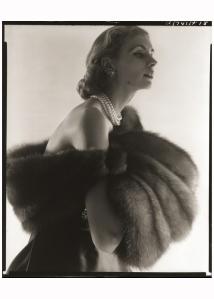 Suzy Parker, Fur Series for Vogue, 1949 Photo Horst P. Horst