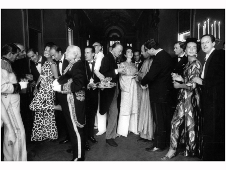 The Palazzo Pajama Party at the Brazilian embassy in Rome Vogue, December 1, 1962 Photo William Klein