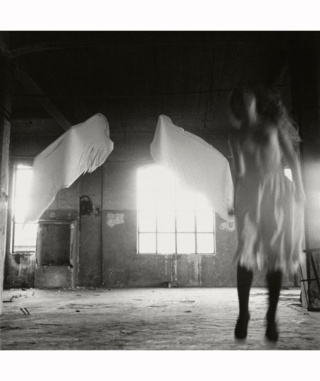 Francesca Woodman from angels series 1972-75