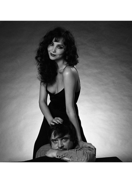 David Bailey And His Wife Marie Helvin Therd Wife 1980 © Patrick Lichfield