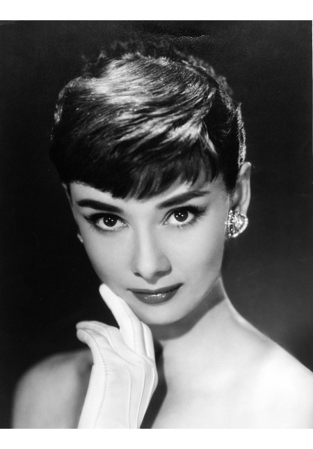 Audrey Hepburn c 1953 © Bud Fraker